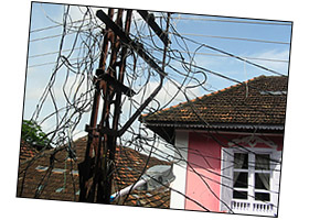 Electrical wiring in Kochi